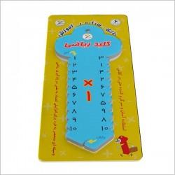 اسباب بازی-کلید آموزشی ریاضی- ضرب