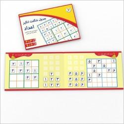 اسباب بازی-جدول شگفت انگیزاعداد 4×4 و 6×6